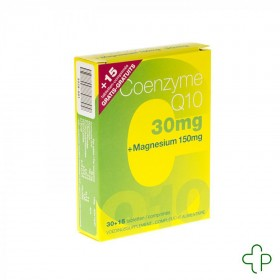 Coenzyme q10 + mg 30 tablets + 15 tablets gratuit 5877