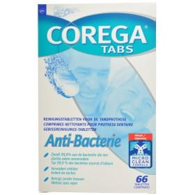 Corega Tabs anti bacterie tablets 66