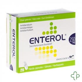 Enterol 250 mg caps blister...