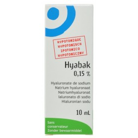 Hyabak 0,15% collyre...