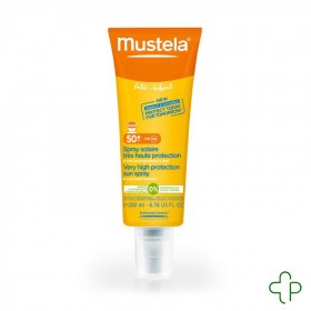 Mustela solution spray tres haute protect 50+ 200ml