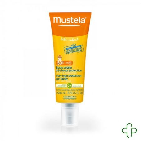 Mustela solution spray tres haute protect 50+ 200ml