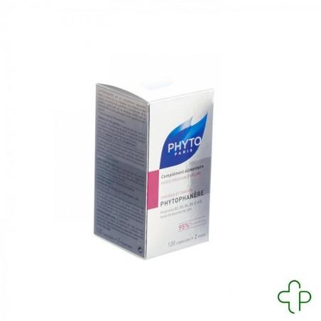 Phytophanere cheveux anti-chute + zinc caps 120