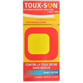 Toux san dextrometorphan...