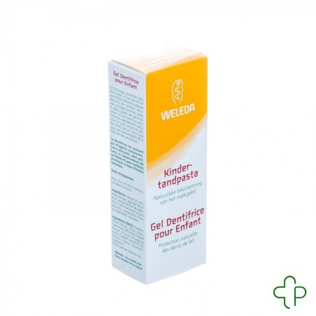 Weleda dentifrice gel enfant nf tube 50ml