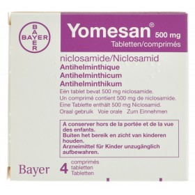 Yomesan tablets 4x500mg