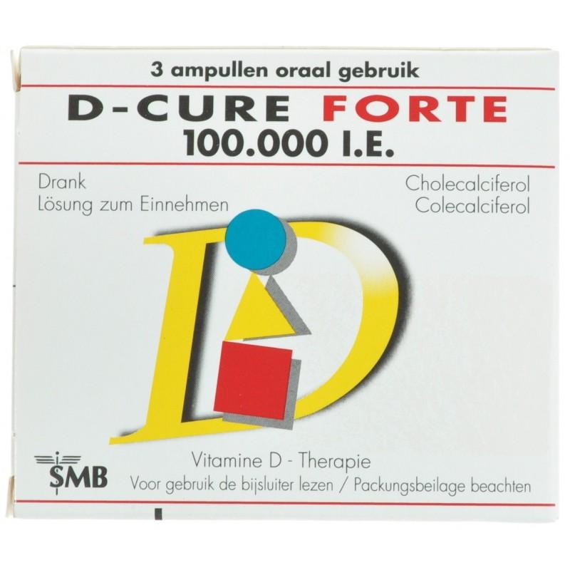 D-cure forte 100.000 IU ampoules 3
