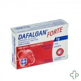 Dafalgan forte comprimés pelliculés 10 x 1000 mg