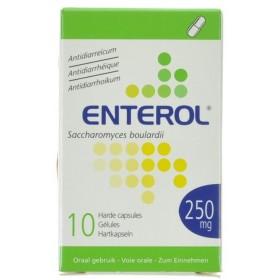Enterol Capsules 10 X 250 Mg