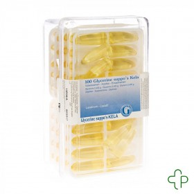 Glycerine kela pharma supp ad 100