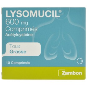 Lysomucil 600 comprimés 10 x 600 mg