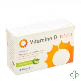 Vitamine d 1000iu comprimés...