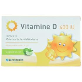 Vitamine d 400iu comprimés 84 metagenics