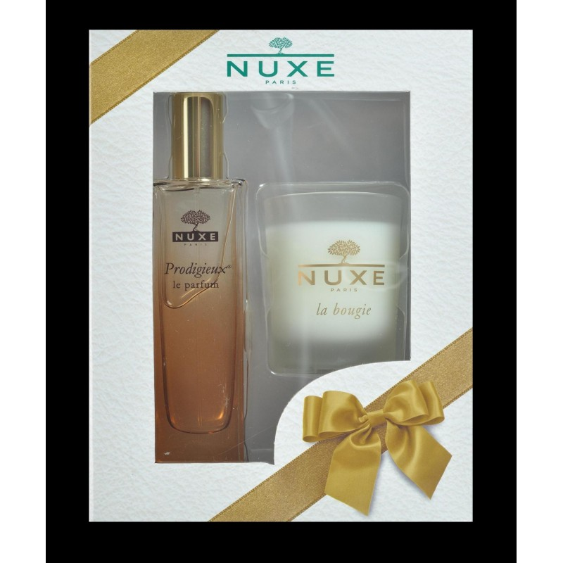 nuxe coffret noel parfum 50ml bougie offerte. Black Bedroom Furniture Sets. Home Design Ideas