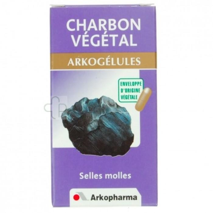 arkogelules charbon vegetal 45 caps. Black Bedroom Furniture Sets. Home Design Ideas