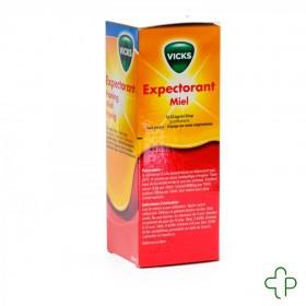 Vicks expectorant miel 13,33mg/ml sirop 180ml