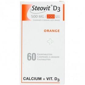 Steovit D3 500 Mg/200 U.i. 60 Comprimes a Croquer