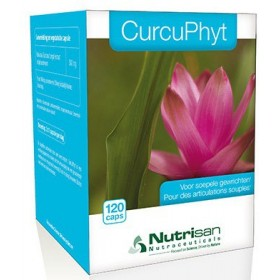 Curcuphyt gelules 120 nutrisan
