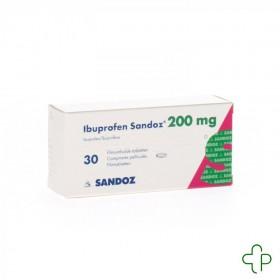 Ibuprofen sandoz 200mg comprimes 30x200mg