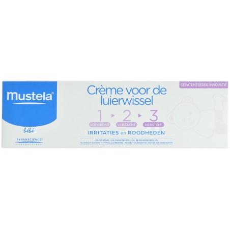 Mustela bebe creme change 1-2-3 100g - 1+1 GRATUIT