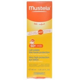 Mustela solaire lait tres haute protection 50+ special...