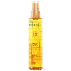 Nuxe sun huile bronzage visage-corps ip10 flacon pompe 150ml