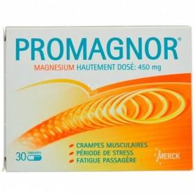 Promagnor 30 Capsules 450 Mg