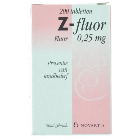 Z Fluor Comprimés 200 X 0,25 Mg