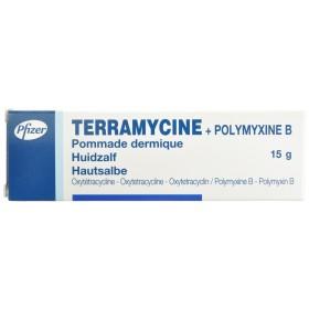 Terramycine Onguent Dermique 14.2g