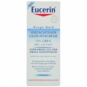Eucerin Peau Seche Creme Visage 5% Uree Tube 50ml