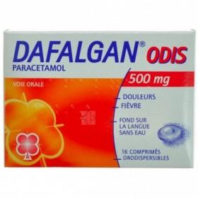 Dafalgan 500 Mg Odis Comprimés 16
