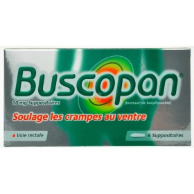 Buscopan 6 Suppositoires