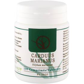 Carduus Marianus Comprimés 100x100mg Dynarop