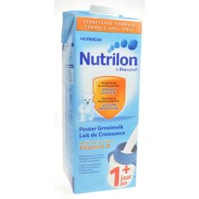 Nutrilon lait croissance +1ans tetra 1l