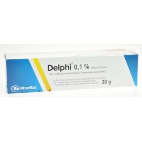 Delphi creme dermique 1 x 30 g 0,1%