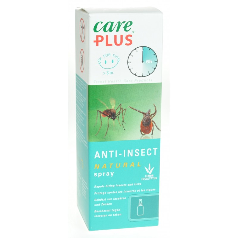 Care Plus Bio Spray 60ml (sans Deet)