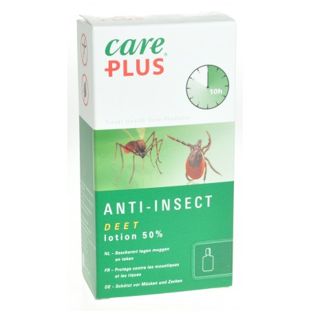 Care Plus Deet Anti-Insect Lotion 50% 50ml 32410