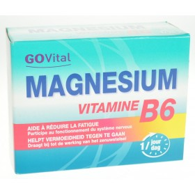 Govital Magnesium Vitamine B6 Blister Comprimes 3X15
