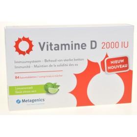 Vitamine d 2000iu comprimés 84 metagenics