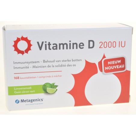 Vitamine d 2000iu comprimés 168 metagenics