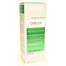 Vichy dercos shampooing anti pelliculaire cheveux gras reno 200ml