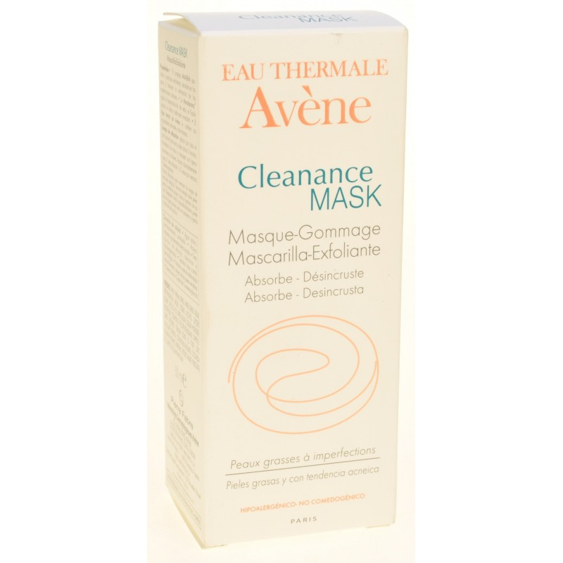 Avene cleanance mask masque gommage abs tube 50ml