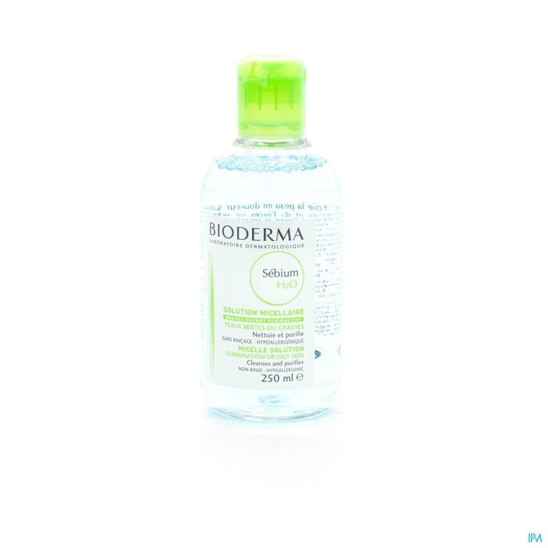 Bioderma Sebium H2o Solution Micellaire Pg 250ml