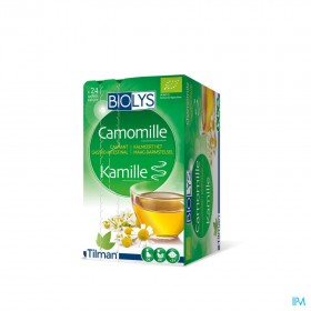 Biolys Camomille Bio bags 24