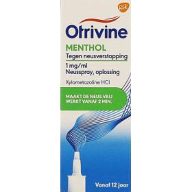Otrivine Menthol Spay Nasal...