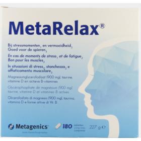 METARELAX NF TABL 180 22431...