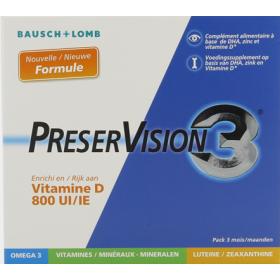 Preservision 3 gelules 180