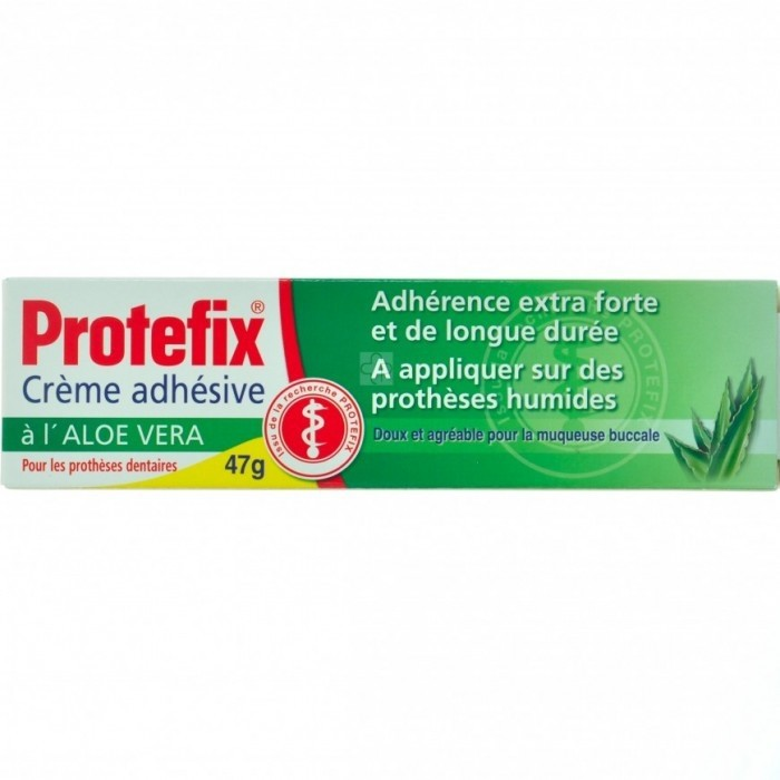 protefix creme adhesive aloe vera 40ml acheter en ligne. Black Bedroom Furniture Sets. Home Design Ideas