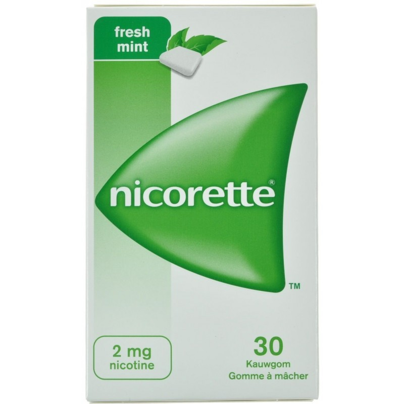 Nicorette Freshmint Gomme Mach 30x2mg