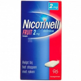 Nicotinell Fruit Gomme Macher 96x2mg
